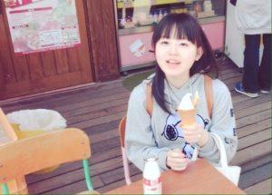 牛乳とソフトクリーム